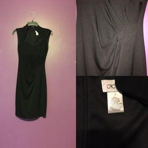 Cache size 2 black dress